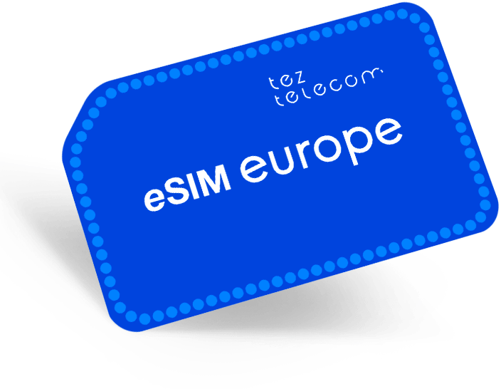 eSIM Europe 22€ / 15€ баланс / 180 дней сервиса