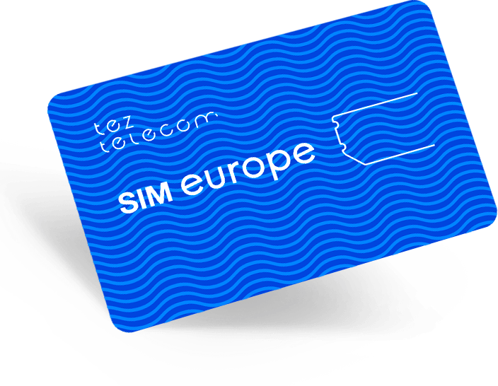 SIM Europe 25€ / 15€ баланс / 180 дней сервиса