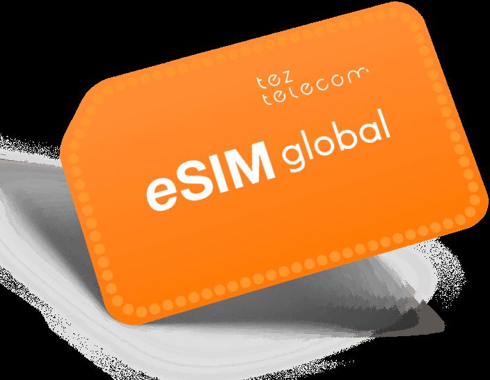 eSIM Global 22€ / 15€ баланс / 180 дней сервиса